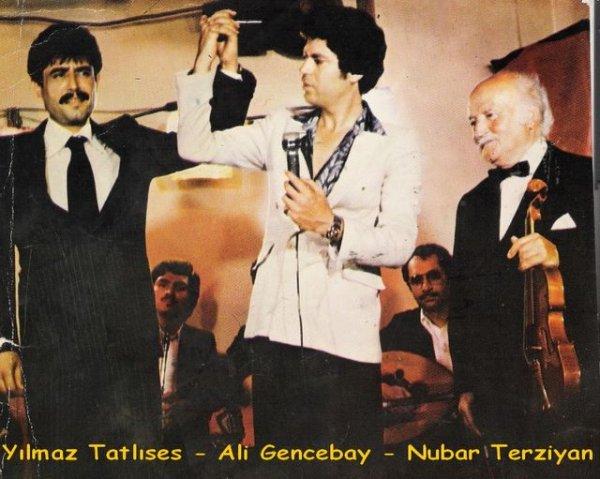 Y.Tatlises/Ali Gencebay/Nubar Terziyan